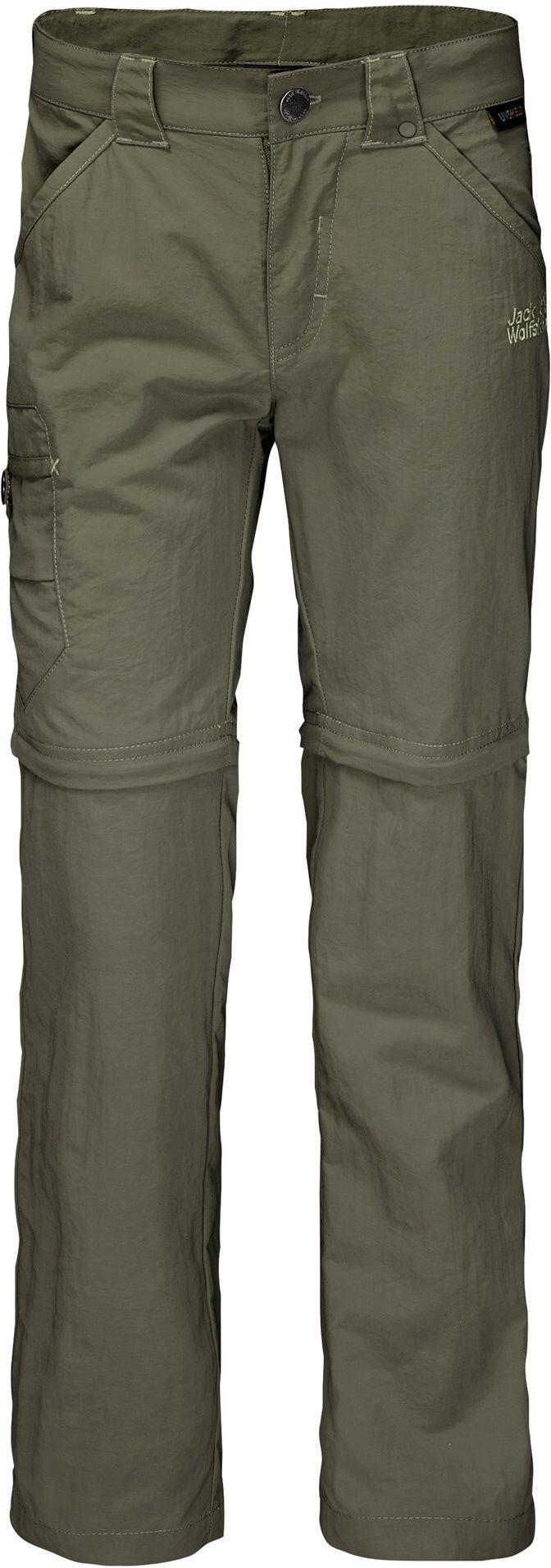 5dea4036 Jack Wolfskin Safari Zip-Off Pants Børn, woodland green | Find ...